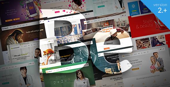 Creative Premium WordPress Themes of 2014 | 15+ TOP Templates
