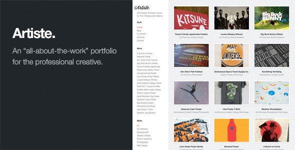 15+ Best Artist WordPress Themes | for CreAtives